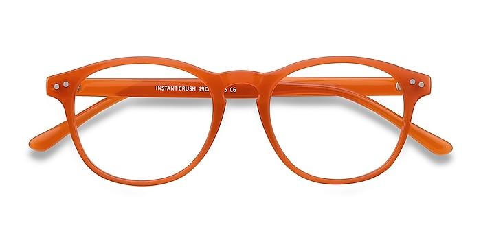 Orange Instant Crush -  Tendance Plastique Lunettes de vue