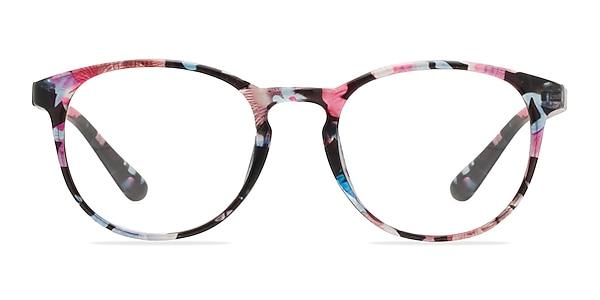 Muse Pink Floral Plastic Eyeglass Frames