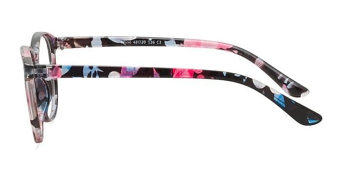 Muse Pink Floral Plastique Montures de lunettes de vue d'EyeBuyDirect