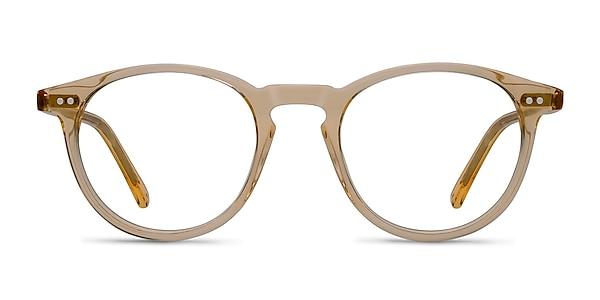 Kyoto  Clear Yellow  Acetate Eyeglass Frames