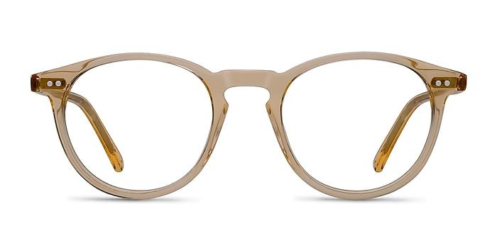 Kyoto  Clear Yellow  Acétate Montures de lunettes de vue d'EyeBuyDirect