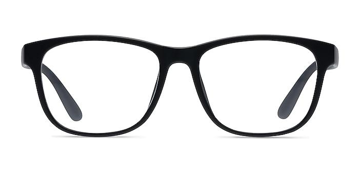 Milo Matte Black Plastique Montures de lunettes de vue d'EyeBuyDirect