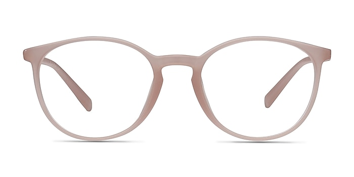 Dinah Matte Pink Plastic Eyeglass Frames from EyeBuyDirect