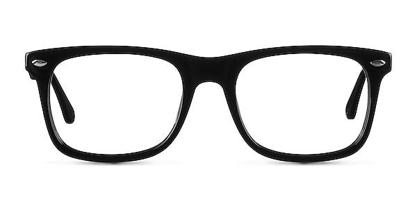 Sam Noir Acétate Montures de lunettes de vue