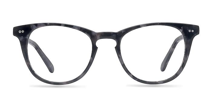 Flume Gray Floral Acétate Montures de lunettes de vue d'EyeBuyDirect