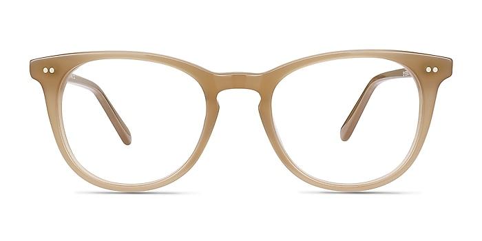 Flume Taupe Acétate Montures de lunettes de vue d'EyeBuyDirect