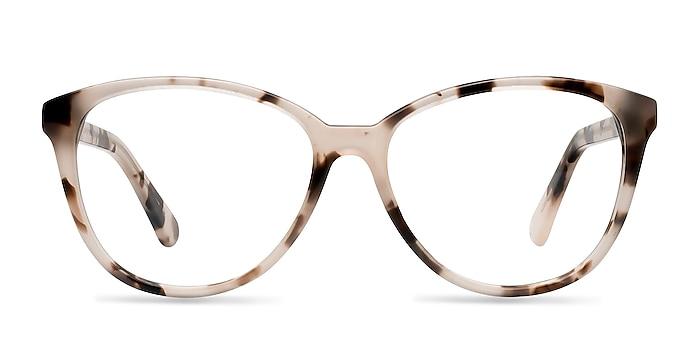 Hepburn Ivory Tortoise Acétate Montures de lunettes de vue d'EyeBuyDirect