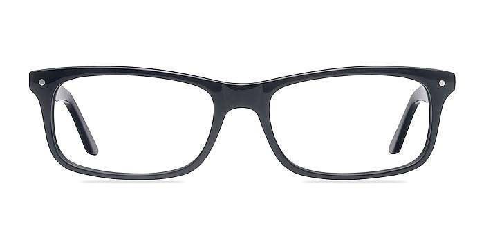 Mandi Noir Acétate Montures de lunettes de vue d'EyeBuyDirect