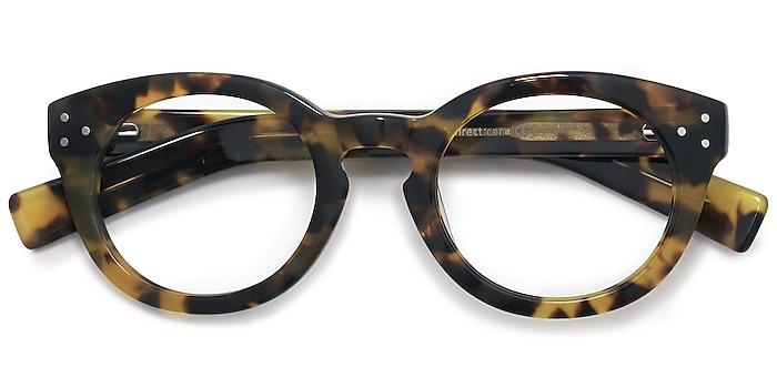 Tortoise Morla -  Vintage Acetate Eyeglasses