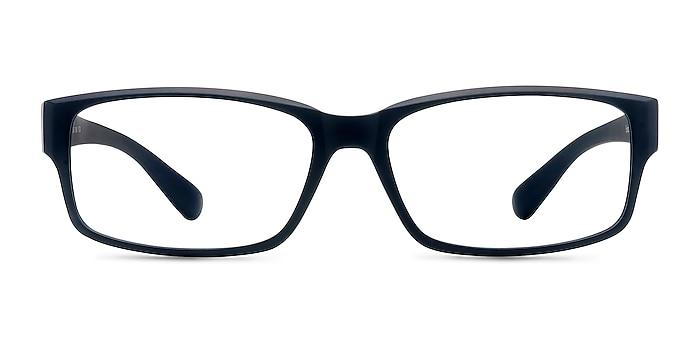 Apollo Matte Navy Plastic Eyeglass Frames from EyeBuyDirect