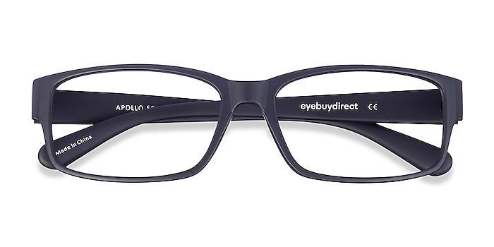 Matte Navy Apollo -  Lightweight Plastic Eyeglasses