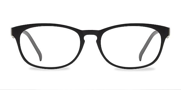 Drums Matte Black Plastique Montures de lunettes de vue