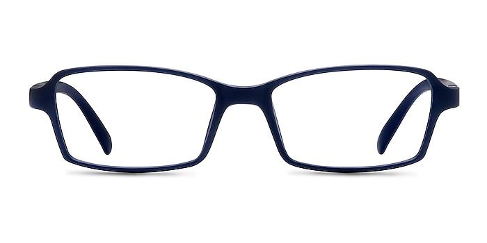 Ricki Matte Navy Plastic Eyeglass Frames from EyeBuyDirect