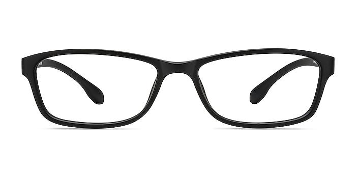 Versus Matte Black Plastic Eyeglass Frames from EyeBuyDirect