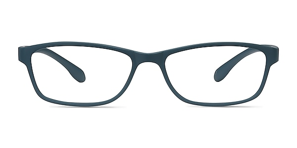 Versus Matte Green Plastic Eyeglass Frames