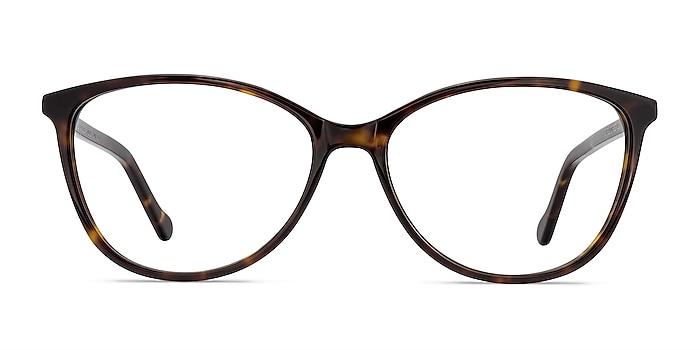 Charlize Tortoise Acetate Eyeglass Frames from EyeBuyDirect