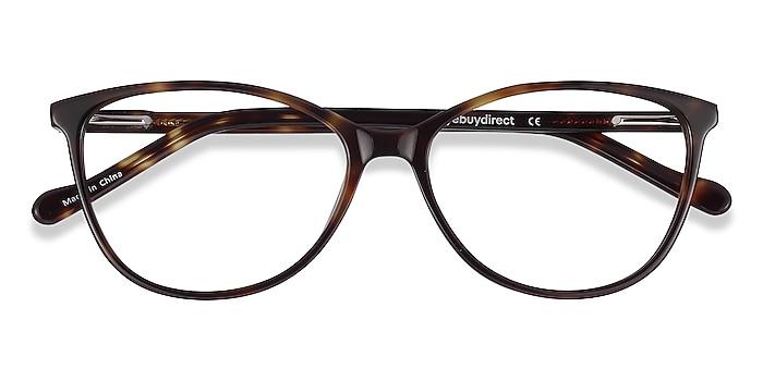 Tortoise Charlize -  Lightweight Acetate Eyeglasses