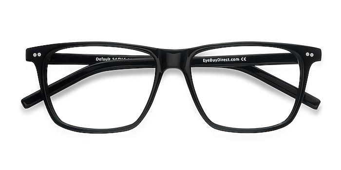 Black Default -  Acetate Eyeglasses