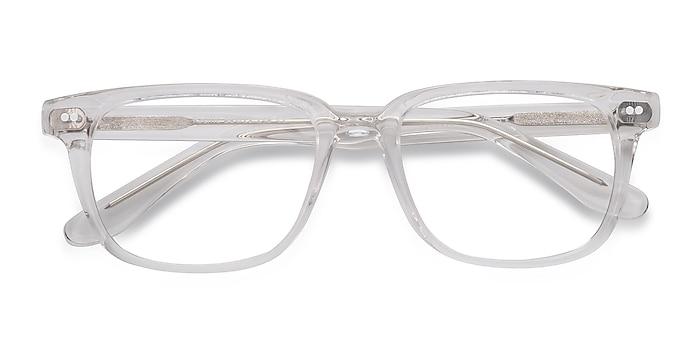 Clear Pacific -  Geek Acetate Eyeglasses