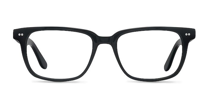 Pacific Black Acetate Eyeglass Frames from EyeBuyDirect