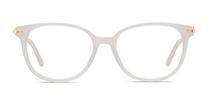 Jasmine Blanc Acétate Montures de lunettes de vue d'EyeBuyDirect