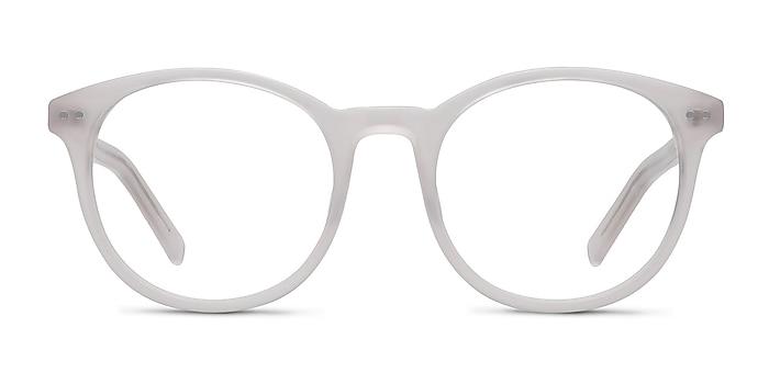 Primrose White Acetate Eyeglass Frames from EyeBuyDirect
