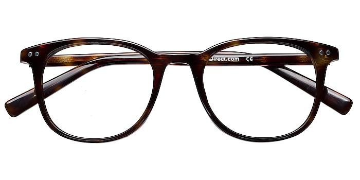Dark Tortoise Demain -  Classic Acetate Eyeglasses