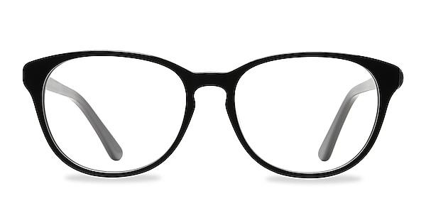 Mars Black Acetate Eyeglass Frames