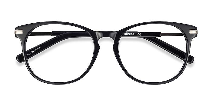 Black Decadence -  Fashion Acetate, Metal Eyeglasses