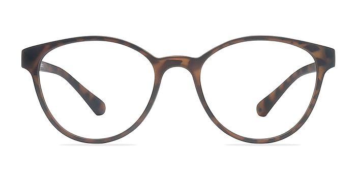 Palette Matte Leopard Plastic Eyeglass Frames from EyeBuyDirect