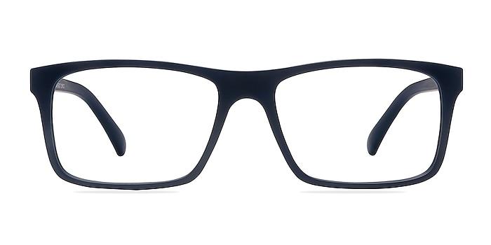 Persian Matte Navy Plastic Eyeglass Frames from EyeBuyDirect