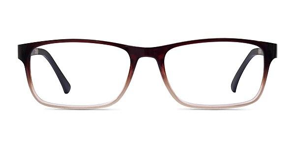 Firefly Brown  Plastic Eyeglass Frames