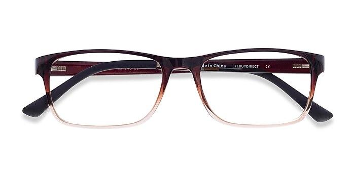 Brown  Firefly -  Lightweight Plastic Eyeglasses