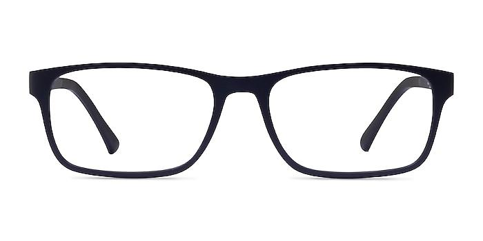 Firefly Matte Navy Plastic Eyeglass Frames from EyeBuyDirect