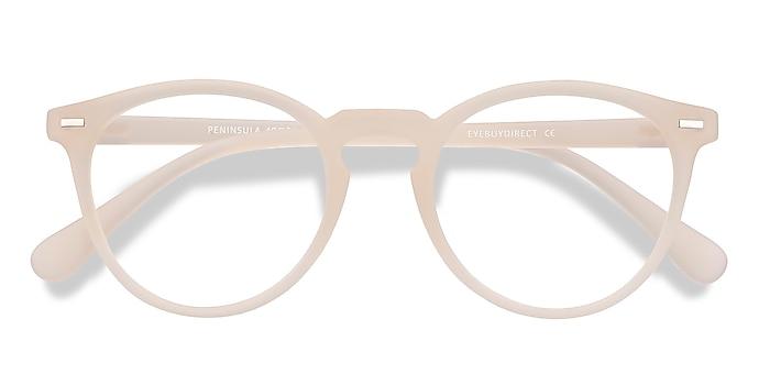 Matte White Peninsula -  Lightweight Plastic Eyeglasses