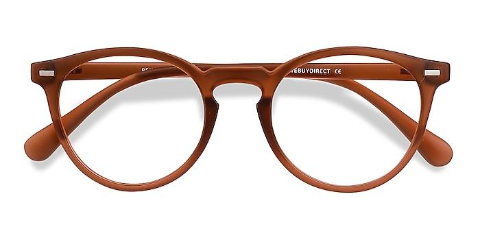 Matte Redwood Peninsula -  Lightweight Plastic Eyeglasses