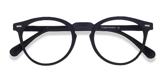 Matte Navy Peninsula -  Lightweight Plastic Eyeglasses