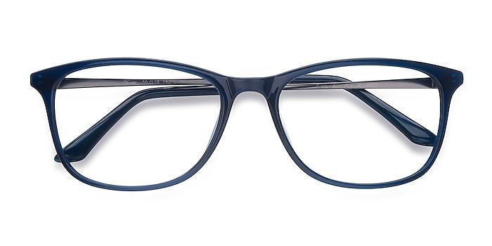 Navy Oliver -  Lightweight Plastic Eyeglasses