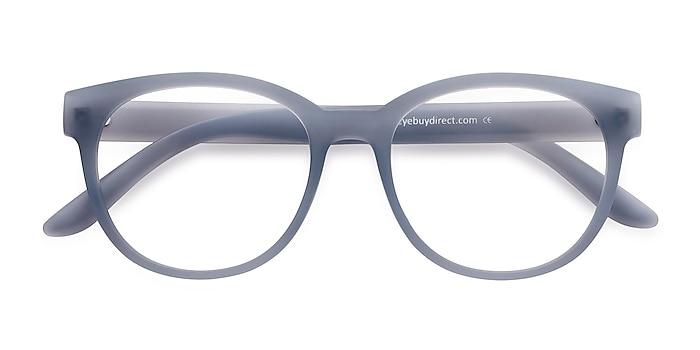 Matte Blue Grace -  Plastic Eyeglasses