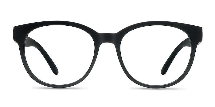 Grace Matte Black Plastique Montures de lunettes de vue d'EyeBuyDirect