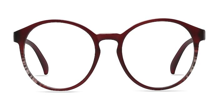 Delaware Matte Burgundy Plastique Montures de lunettes de vue d'EyeBuyDirect