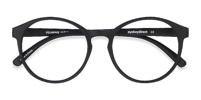 Matte Black Delaware -  Fashion Plastic Eyeglasses