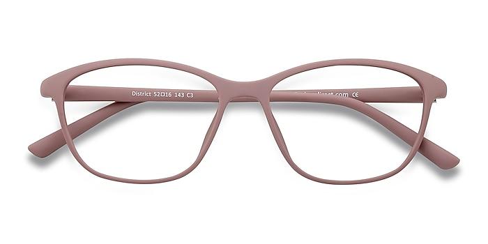 Matte Pink District -  Lightweight Plastic Eyeglasses