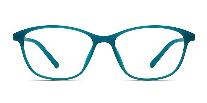 District Vert Mat Plastique Montures de lunettes de vue d'EyeBuyDirect