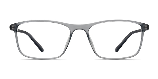 Wyoming Matte Gray Plastic Eyeglass Frames