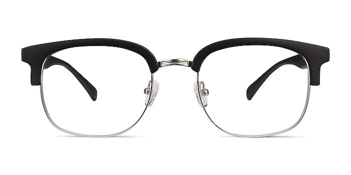 Yokote Matte Black Plastic-metal Eyeglass Frames from EyeBuyDirect
