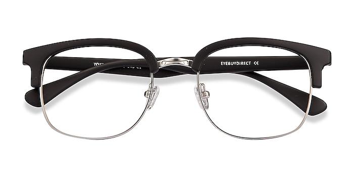 Matte Black Yokote -  Plastic, Metal Eyeglasses