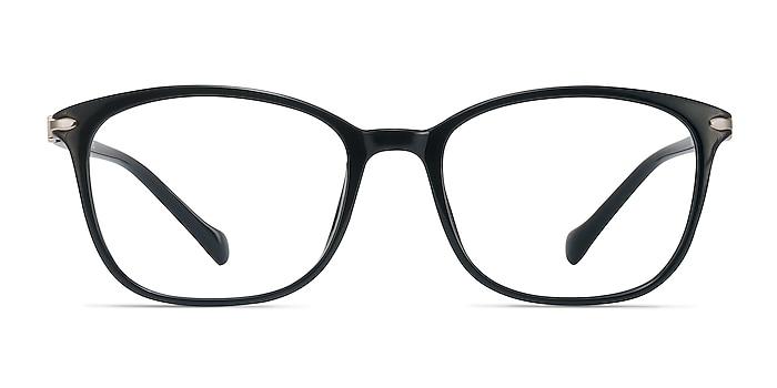 Nola Black Plastic Eyeglass Frames from EyeBuyDirect