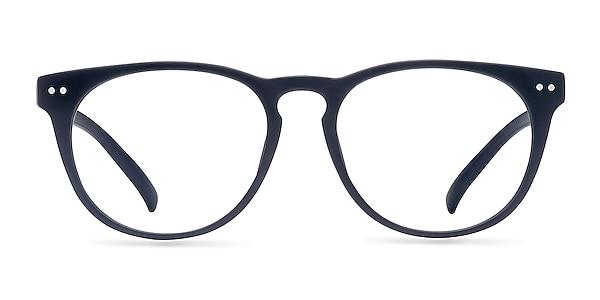 Brick Lane Matte Navy Plastic Eyeglass Frames