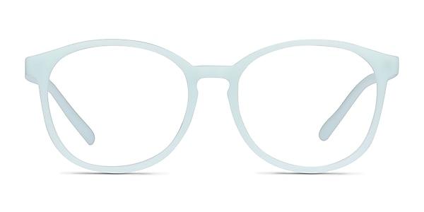 Dutchess Light Blue Plastic Eyeglass Frames